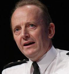 Sir Hugh Orde OBE QPM, President of the Association of Chief Police Officers (ACPO)