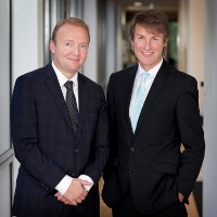 Jeff Gravenhorst (CEO ISS) & Nick Buckles (CEO G4S)