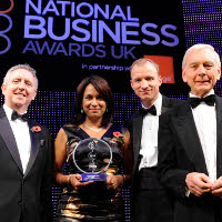 Ruby McGregor-Smith, Chief Executive for MITIE and Orange Business Leader of the Year 2011