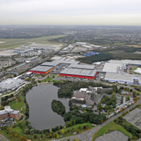 Birds eye view of NEC