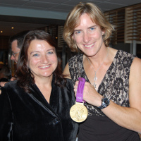 MPS Deputy Assistant Commissioner Janet Williams and Olympic Gold Medalist Katherine Grainger MBE