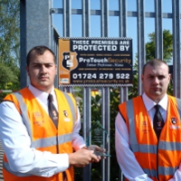 ProTouch Security Guards With Award