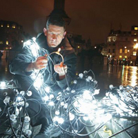 MITIE to light up Trafalgar Square with Christmas tree that uses 600 bulbs!