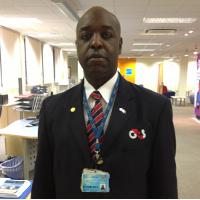 Award winning G4S employee Darren Douglas