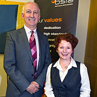 James Kelly, BSIA Chief Executive and Rt Hon Hazel Blears MP at BSIA roundtable