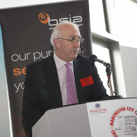 James Kelly Opens Manchester Security 2013