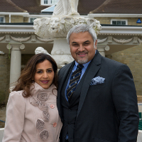 Dr Richie Nanda, Global Chairman of TOPSGRUP and his wife Winnie Nanda