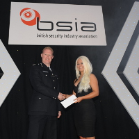Samantha Robinson, of Advance Security UK Limited - Best Newcomer