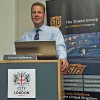 Commercial Director of The Shield Guarding Group, Stephen Hollings