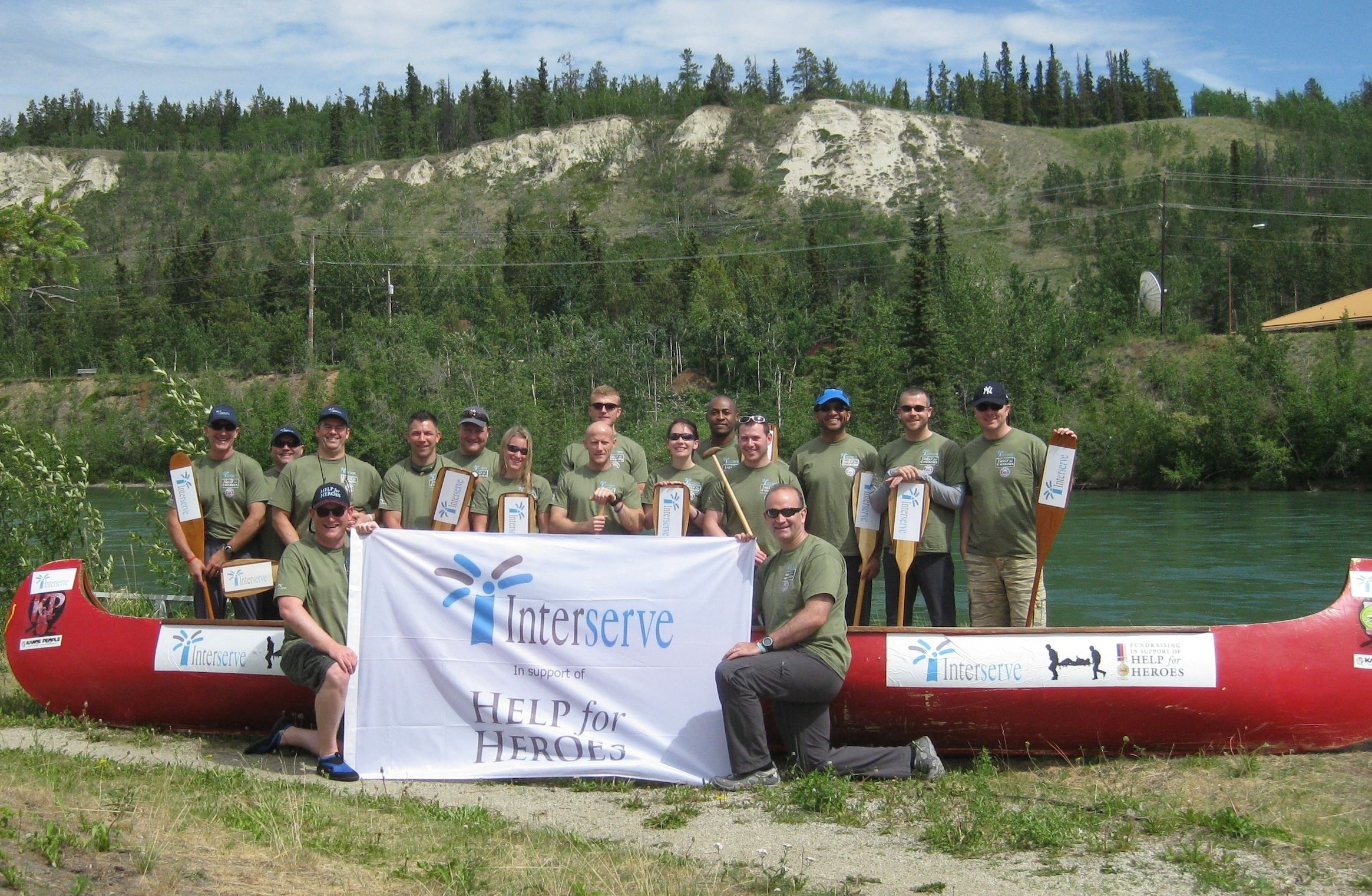 Interserve Update: INTERSERVE BEATS HELP FOR HEROES RIVER QUEST CHARITY