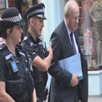 Damian Green sees how Hampshire Police use technology to save officers' time