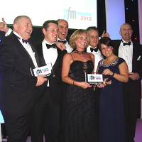 MITIE and Essex County Council awarded best public sector partnership award at the 2013 PFM Awards
