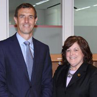 Rob Wainwright, Director of Europol and Julia Pierson, Director of the USSS