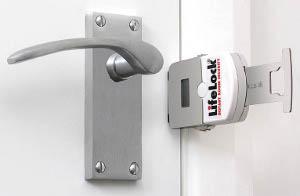 Lifelock in door