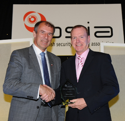 Chairman's Award for Contribution to Standards - Mathew Major, BSIA's ID Section