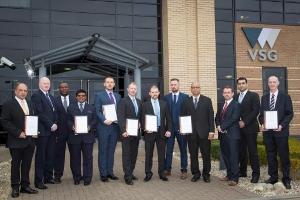 VSG BSIA Regional winners